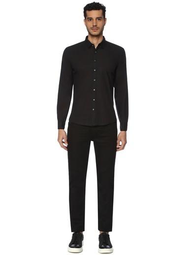 Que Gömlek Siyah